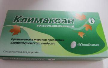 Инструкция по применению препарата Климаксан