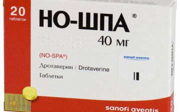 Но-шпа при менструальных болях — можно ли пить?