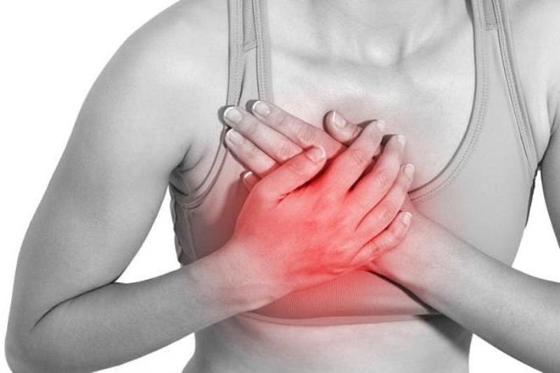 Боль в груди отдает в сосок перед месячными