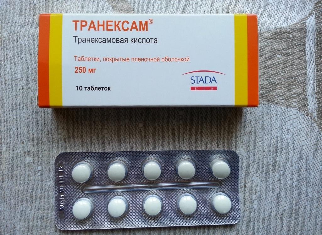Транексам: инструкция по применению таблеток — лечение.